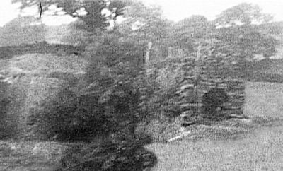 Potash kiln at Cartmell Fold (now demolished) taken from a 9.5mm cine film, 1953