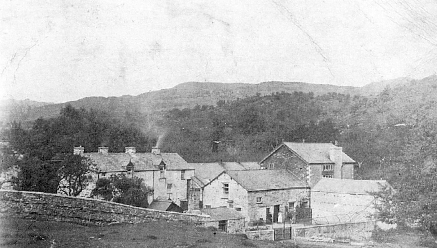 Starnthwaite Mill as an industrial colony