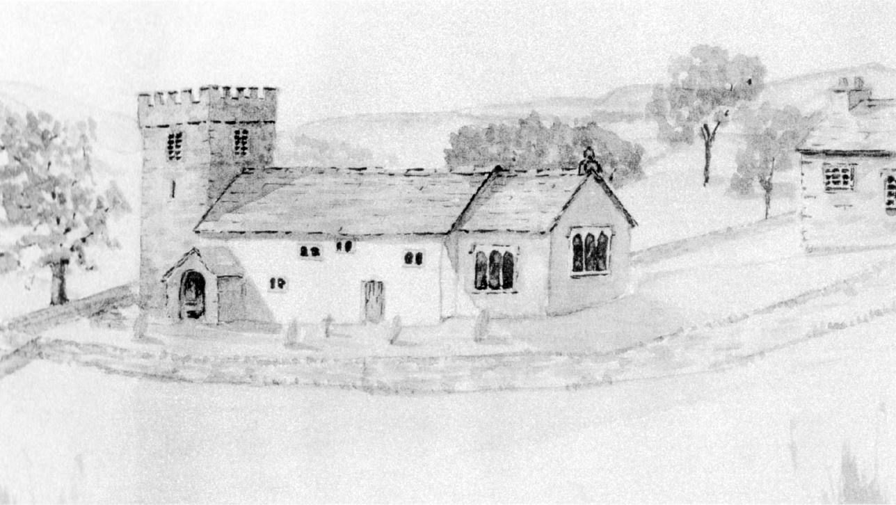 St. Mary's, 1806 - from a sketch by Mr. A. Garnett