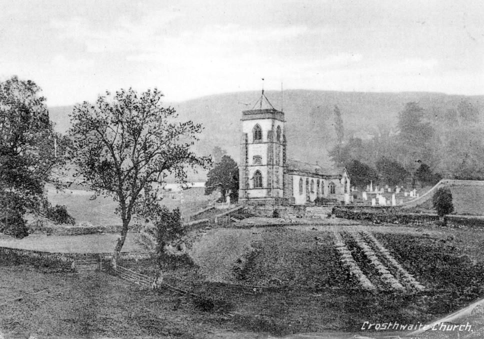 New Church with steeple, 1880s