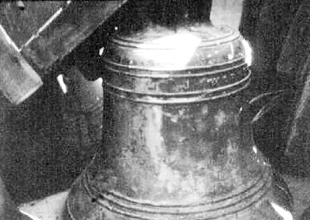 Bell removed for recasting 1987