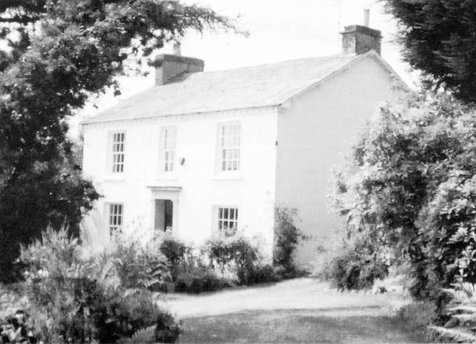 The old vicarage - used by vicars up to 1899, later named Eden Mount