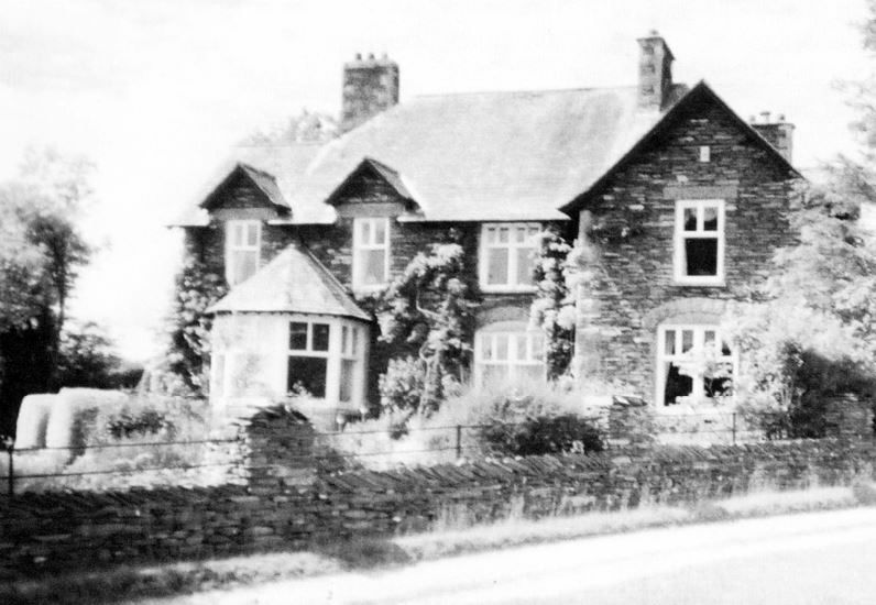 New vicarage, now called Damson Fell, built when the Rev Heelis was appointed in 1899