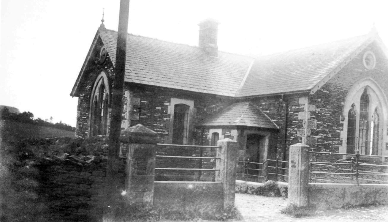 Crosthwaite School in the 1930s <small>(Margaret Duff Collection)</small>