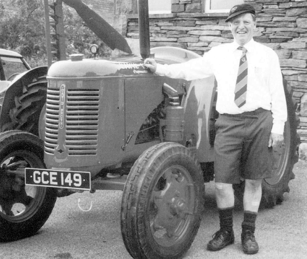 Dougie Blair, 1950s schoolboy, winner of the Fancy Dress Competition