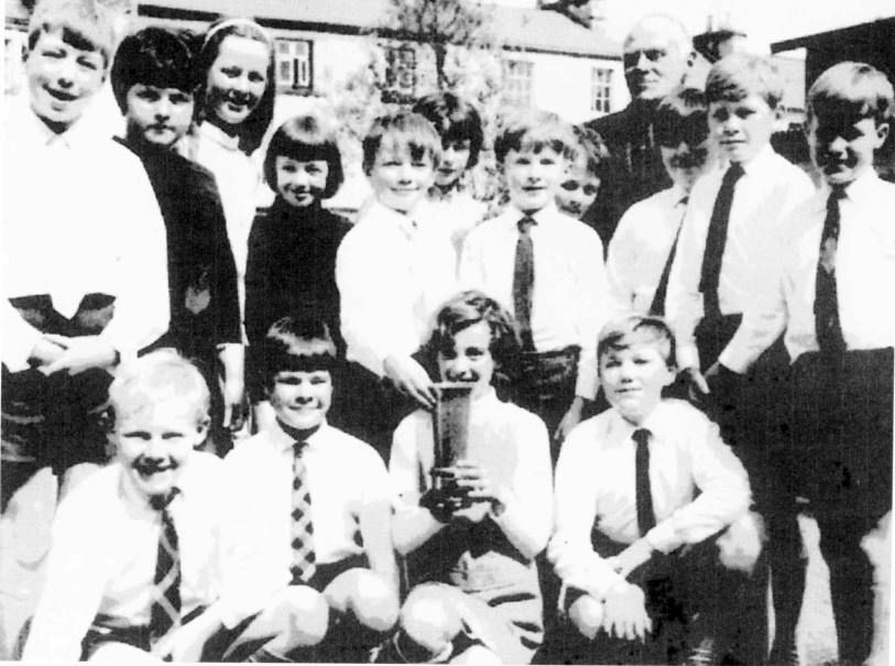 Success for Andrew Hall, teacher at Costhwaite School, at the Mary Wakefield Festival, 1970s