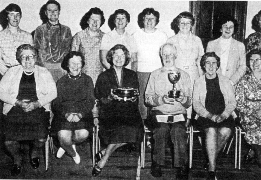 WI choir wins prizes at the Mary Wakefield Festival around 1980