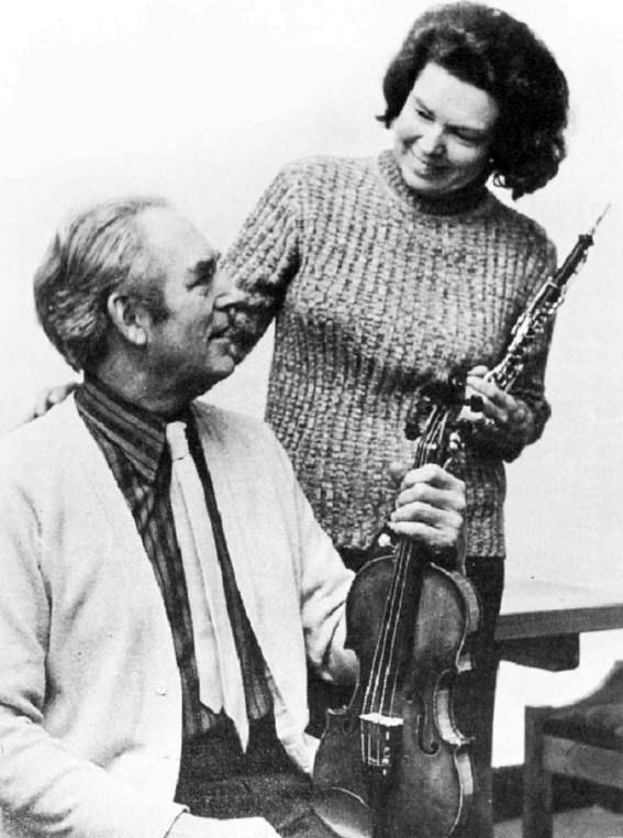 Reginald and Eileen Stead. He was awarded an MBE for services to music in 1983