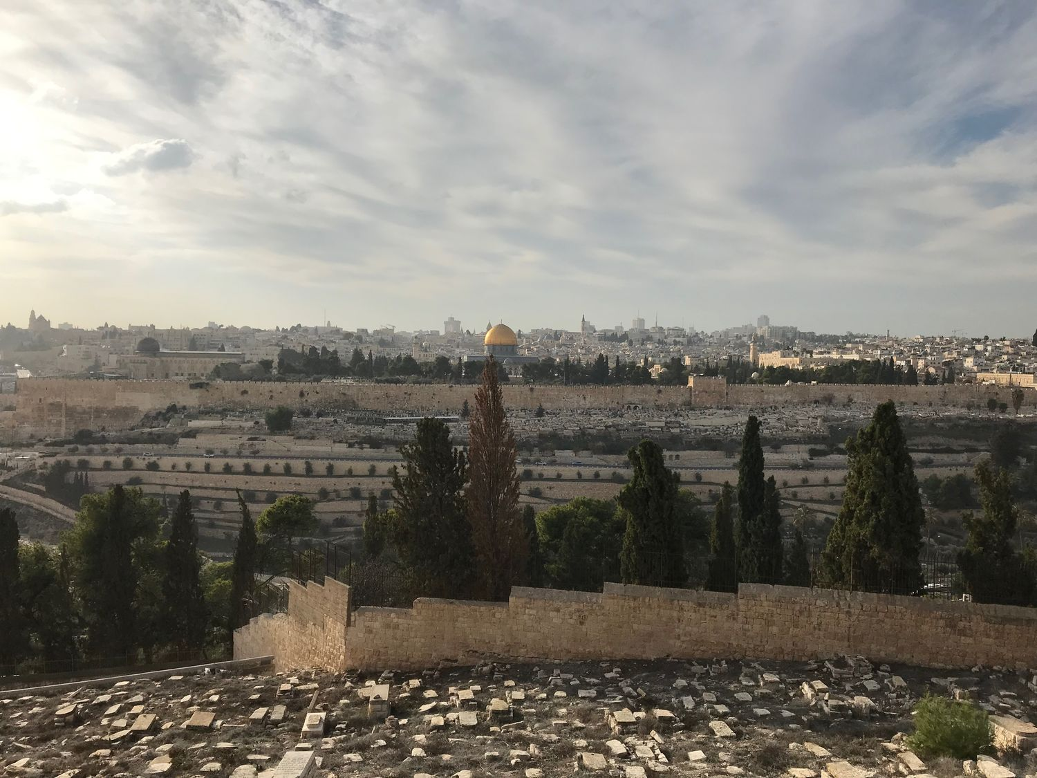 6 View of Jeruslaem from the Mount of Olives