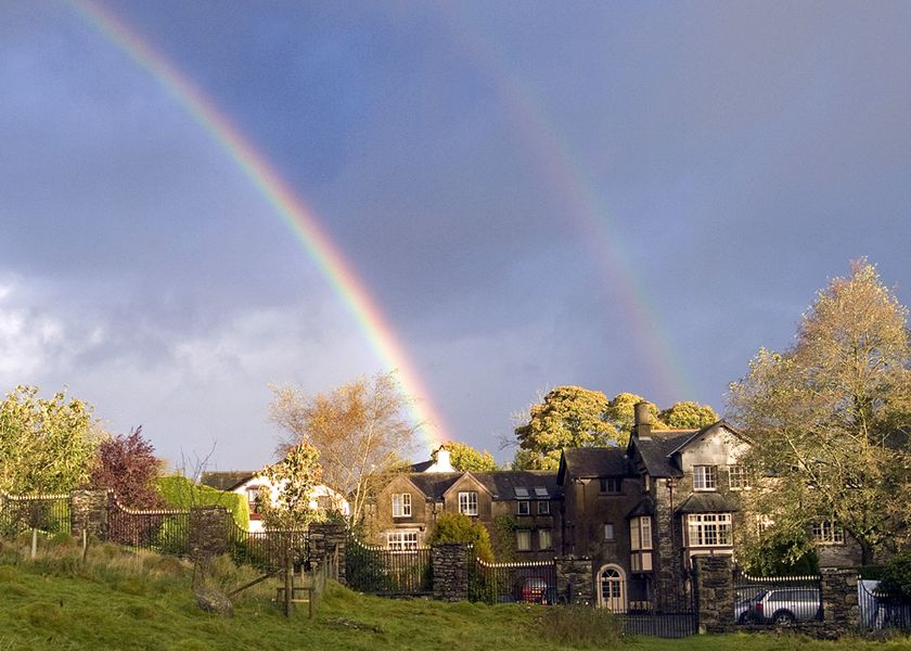 Rainbow over Starnthwaite