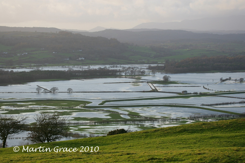 Flooded Lyth Valley from Helsington Church November 20 2009 013L