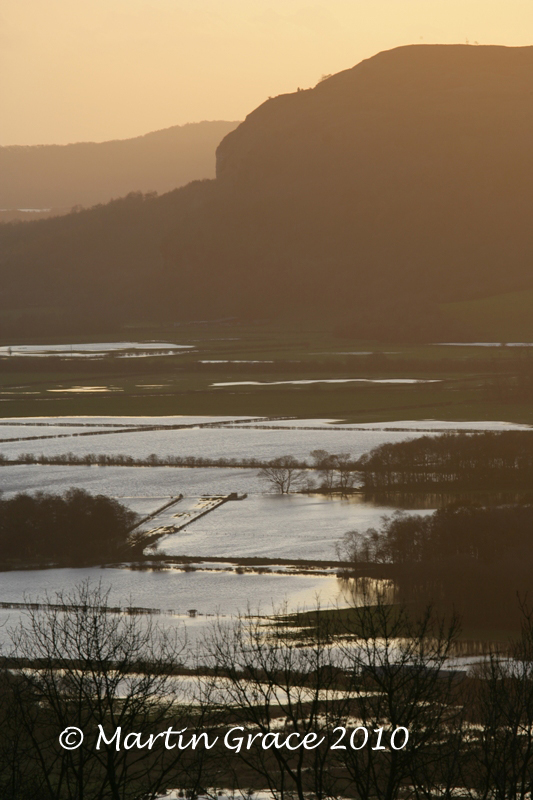 Flooded Lyth Valley from Helsington Church November 20 2009 044L