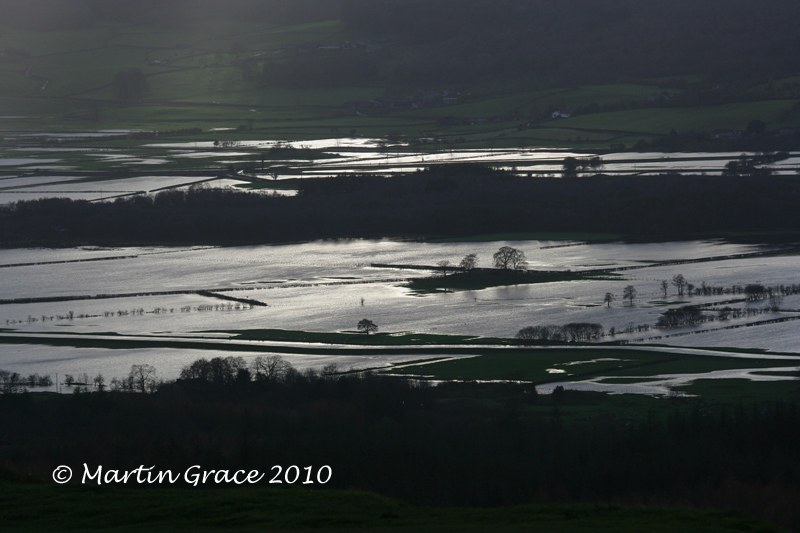 Flooded Lyth Valley from Scout Scar November 20 2009 023L