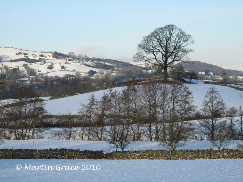 Lyth Valley in Snow December 23 2009 R 011L